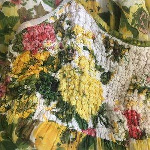 Vintage 1970's Floral Sundress